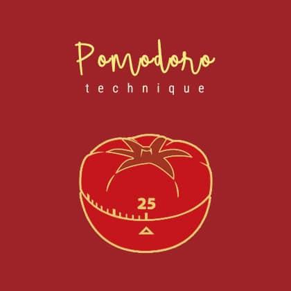 la tecnica del pomodoro: il metodo