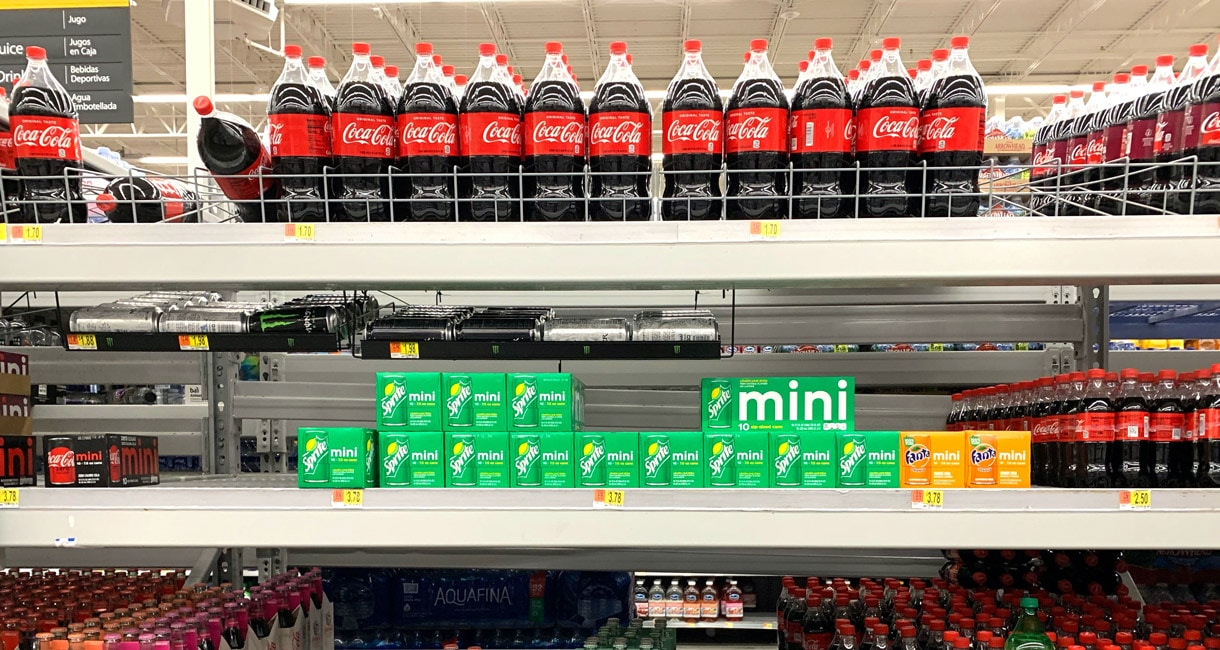 reparto-bibite-super-market-foto