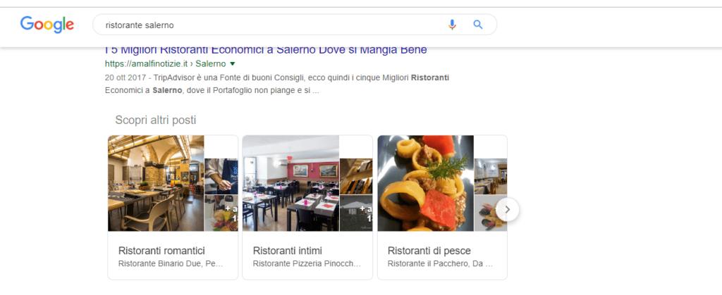 snippet di ricerca google immagine esempio