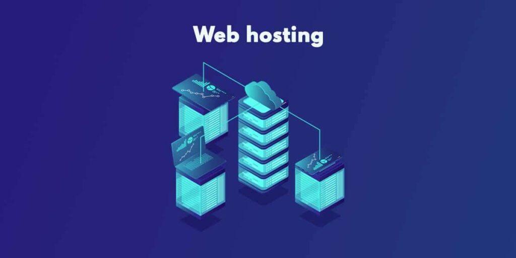 immagine stilizzata di un hosting